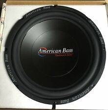 """1 NEW Old School American Bass XL-12 12"""" subwoofer,Rare,Vintage,NOS,USA MADE"""