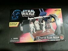 Star wars power of the force Detention block rescue sealed in box