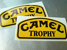 Camel Trophy todos Jeep 4x4 & Land Rover ventiladores Calcomanías Stickers 2 De 150 Mm