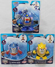 Set of 3: Mr. Potato Head Transformers Optimus Prime, Bumblebee, Hightide