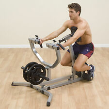 Body Solid SEATED ROW MACHINE Weight Plate Gym Rowing Rower, GSRM40