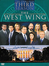 The West Wing ~ The Complete Third Season ~ 4-Disc DVD Box Set ~ FREE Shipping