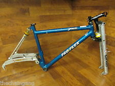 "VINTAGE PRO FLEX GIRVIN 26ER 19.5"" FULL SUSPENSION MOUNTAIN BIKE MTB FRAME SET"