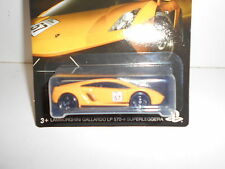 LAMBORGHINI GALLARDO LP 570-4 SUPERLEGGERA GRAN TURISMO HOT WHEELS 1:64