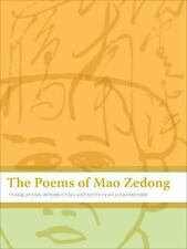 The Poems of Mao Zedong-ExLibrary