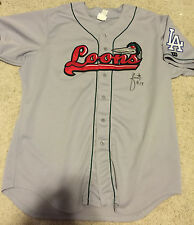 Julio Urias Game Used Autographed Great Lake Loons Jersey - L.A. Dodgers