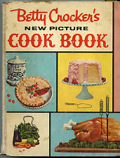 BETTY CROCKER'S NEW PICTURE COOK BOOK 1st Edition 1st Printing 1961  Hardcover