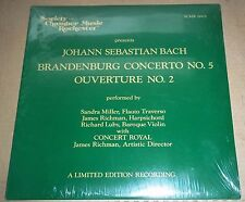 BACH Brandenburg Concerto No.5 - Society for Chamber Music in Rochester SEALED
