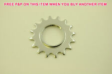"FIXIE 16 TEETH 1/8"" CP SPROCKET COG FOR FIXED WHEEL BIKES & FLIP FLOP WHEELS"