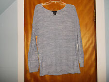NEW Size 14/16 Lane Bryant Light Blue Open Knit Dolman Sweater