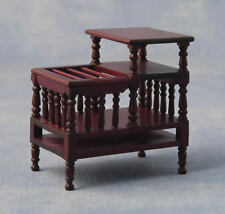 Magazine Telephone Stand, Dolls House Miniature, Hall Furniture, 1.12 Scale