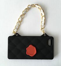 UNIQUE BLACK HANDBAG Phone Cover For iPhone 5/5s UK SELLER