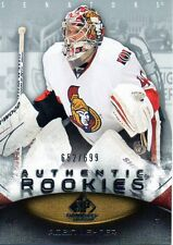 Robin Lehner 10/11 SP Game Used Authentic Rookies #116