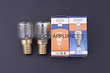 ILVE OVEN LIGHTS/GLOBES DR FISHER MADE IN ITALY 300C PAIR 25W TOP BRAND