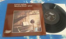 TURNABOUT TNL 25030 - SAINT-SAENS:- MARYLENE DOSSE, PIANO  DUTCH LP