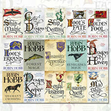 Robin Hobb 15 Books 5 Series Collection Set (Fools Errand, The Golden Fool), UK