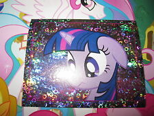 MY LITTLE PONY MON PETIT PONEY TOPPS 2014 IMAGE STICKER AUTOCOLLANT N° 143 HOLO