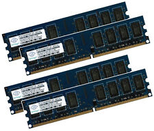 4x 2gb 8gb ECC Unbuffered RAM memoria ddr2 800 MHz UDIMM pc2-6400e 240p