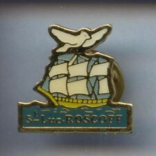 RARE PINS PIN'S .. BATEAU BOAT VOILIER VOILE /  PIGEON COLOMBE ¤7B