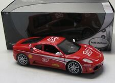 Ferrari f430 Challenge (2005) rouge/Hot wheels 1:18