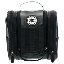 Official Black Star Wars Galactic Empire Wash Bag - Travel Toiletries Case Vader