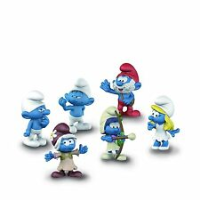 Schleich - Smurf MOVIE SET 3 (2017) Set of 6 Smurfs (20802) *NEW*