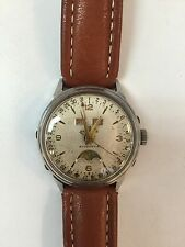 Breitling triple Date Moon Chase Automatic Men Watch