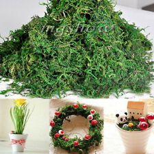 50G Dried Artificial Reindeer Moss For Lining Decor Flower Hanging Baskets Plant
