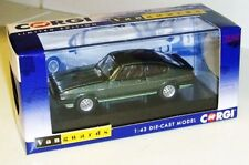 Corgi Vanguards VA10812  Ford Capri Mk3 2.8 Injection, 2-Tone Green 1:43 Diecast