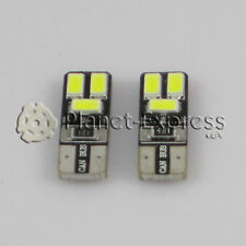 2 x Light bulbs 6 SMD LED 5630 White CANBUS T10 W5W Flat,Registration,etc. Xenon
