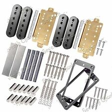 Unmagnetized Alnico Magnet Double coil Humbucker Pickup Kits Producing Accessori