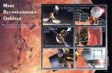 GAMBIA 2006 SPACE, ASTRONOMY // MARS ORBITER M/S of 6 MNH ** postfrisch