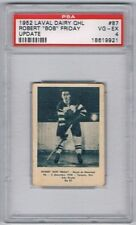 1952 Laval Dairy QHL Update Hockey Card Montreal Royals Bob Friday Graded PSA 4
