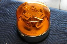 North American Signal Heavy Duty Amber Light 250-22-45 4 Rotating Bulbs NOS