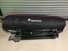 Manfrotto MVT502AM Aluminum Telescopic Twin Leg Video Tripod - Lightly Used