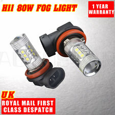 2X Super Bright 80W H11 Osram LED DRL Car Light Driving Fog Light Lamp Bulbs UK