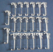 20 Pcs 2 1/2 Inch Valance Clips For Horizontal Faux wood & Wood Blinds Parts 2.5