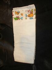 Vintage Generic Plastic Backed Diaper size XL