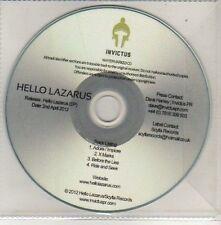 (CU660) Hello Lazarus, Hello Lazarus EP - 2012 DJ CD