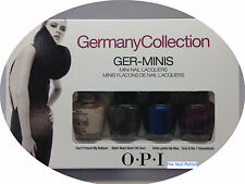 * OPI Germany Collection Mini 4 Colors Set BNIB
