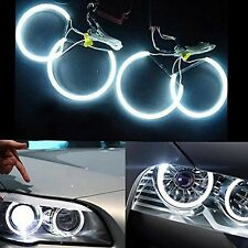 Kit De Ojo Angel Ccfl Halo Anillo de 4x 131mm 6000K brillante LED luces coche headli CCFL..