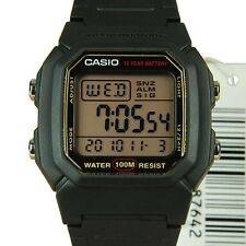 AUSTRALIAN SELLER CASIO WATCHES W-800HG-9A W800 W800HG 100M SNORKELING DIVING