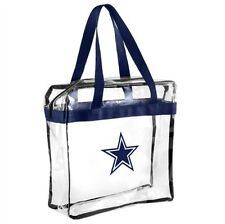 NFL Dallas Cowboys Clear Zipper Massenger Bag Stadium Approved