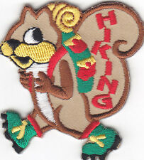 """HIKING"" IRON ON EMBROIDERED PATCH/SPORTS, HIKER, OUTDOORS, SPORTS, CAMPING"