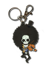 **License** One Piece PVC Keychain SD Brook #4766