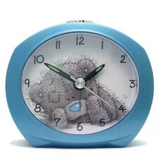 En Caja Me To You Tatty Teddy Azul Reloj Despertador Con Luz y repetición, - mtyclk15a.