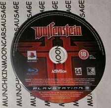 Wolfenstein 2009 DISC ONLY for PAL Sony PlayStation 3 PS3 FREE UK P&P Activision