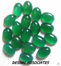 18x13 MM OVAL CUT NATURAL GREEN ONYX  ALL NATURAL AAA CAB
