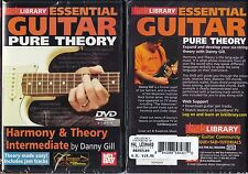 ESSENTIAL GUITAR PURE THEORY - INTERMEDIATE - DVD - LICK LIBRARY - NEW