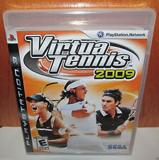 BRAND NEW SEALED Virtua Tennis 2009 PS3 PlayStation 3 SEGA